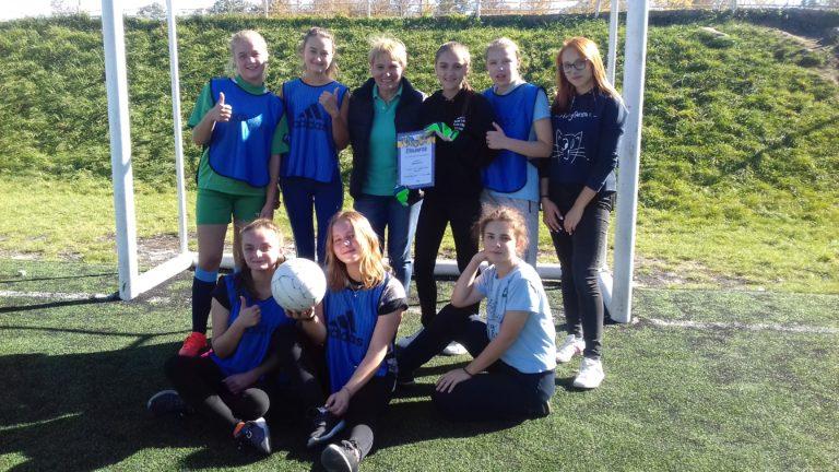 Переможці з міні-футболу серед дівчат